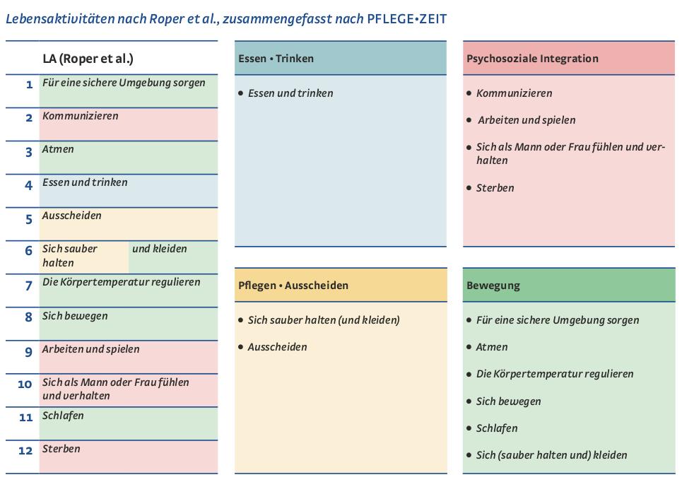 Arbeitsblätter Zu Juchli Pflege : Universal fachwissen pflegemodell